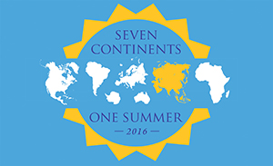 7 Continents, 1 Summer