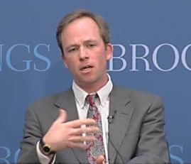 Clark University associate professor of political science Robert Boatright spoke during a recent panel at the Brookings Institution.