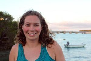Hannah Reich in Bermuda