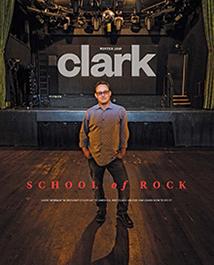 Clark magazine winter 2019 cover