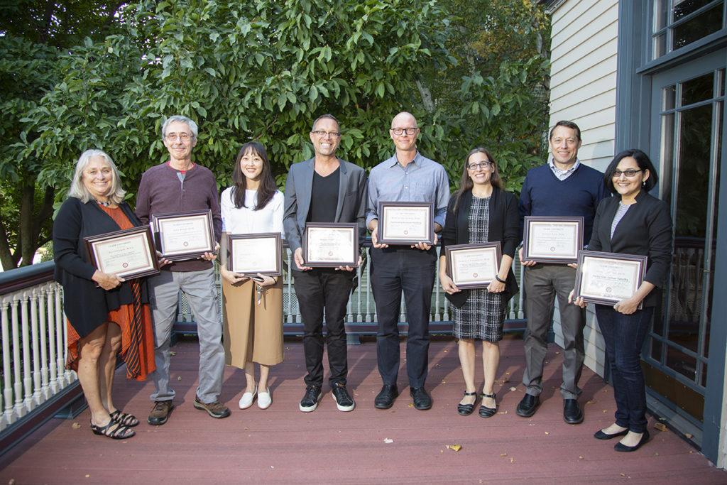 2019 faculty award recipients
